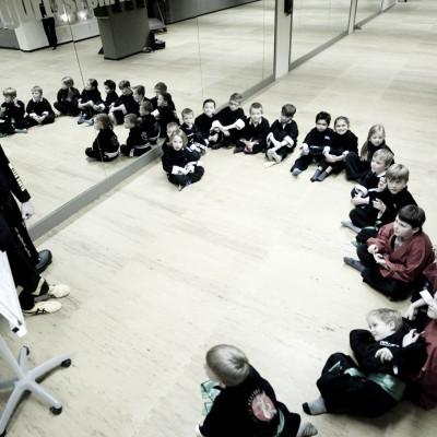 Kindertraining Theorie Blackbelt Academy Osnabrück