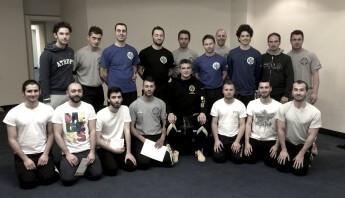 Gruppenbild mit Wolfgang Herges Blackbelt Academy Corato